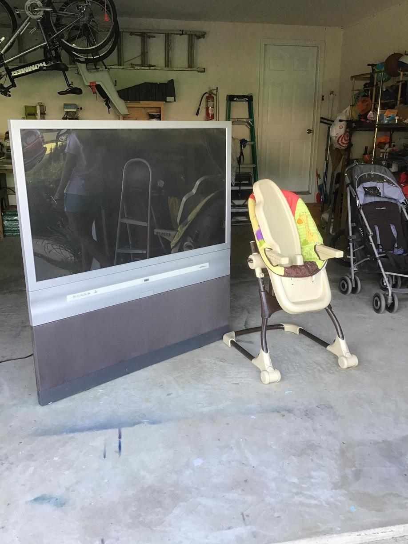 E-waste Removal in Manassas, VA - Before Photo