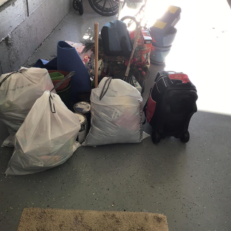 Junk Removal Job in Haymarket, VA - Before Photo