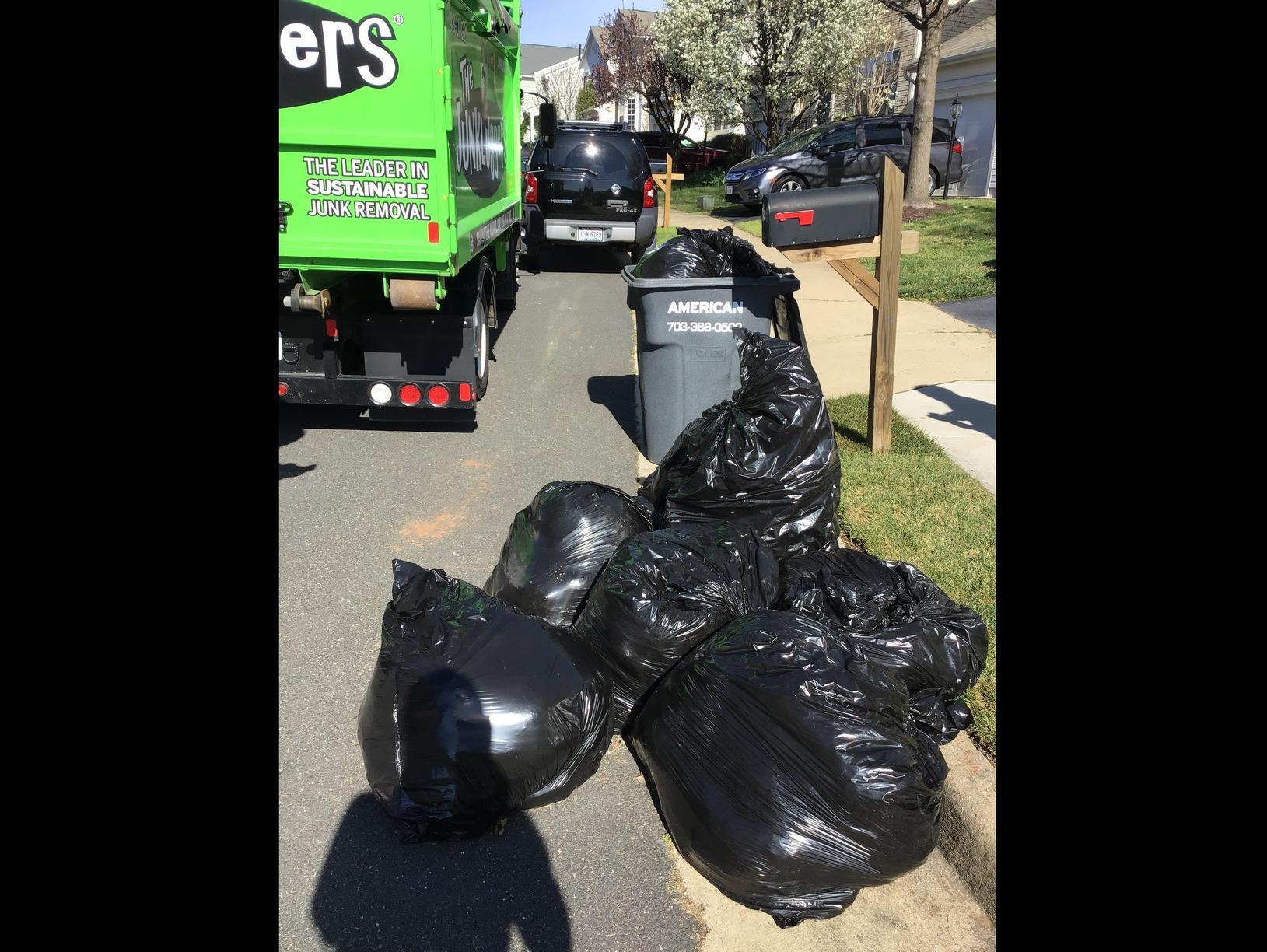 Curbside Pickup in Gainesville, VA - Before Photo