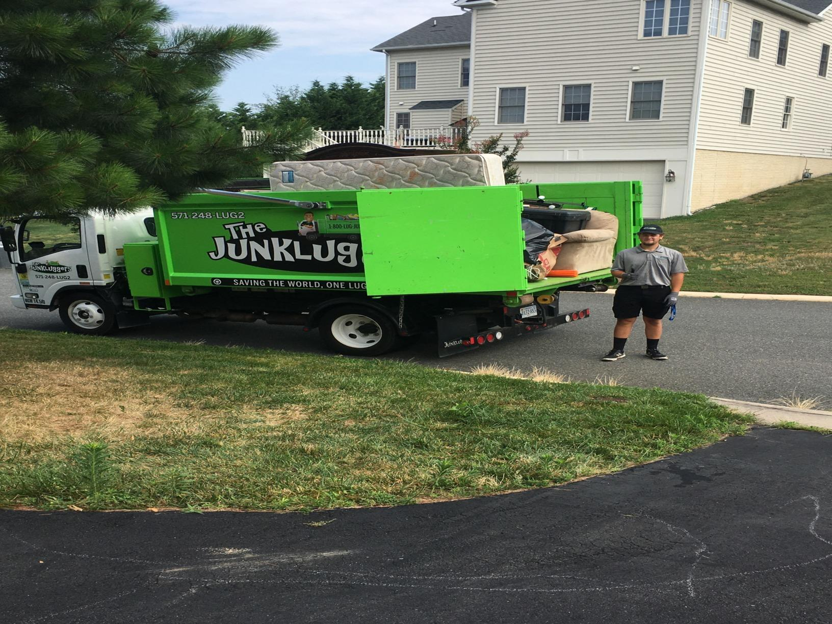 Curbside junk removal in Woodbridge, VA - After Photo