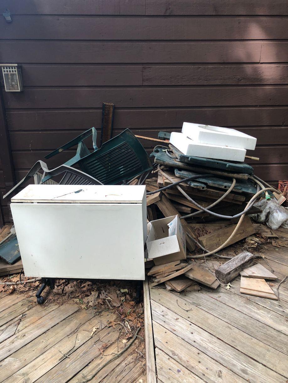 Debris Removal in Reston, VA - Before Photo