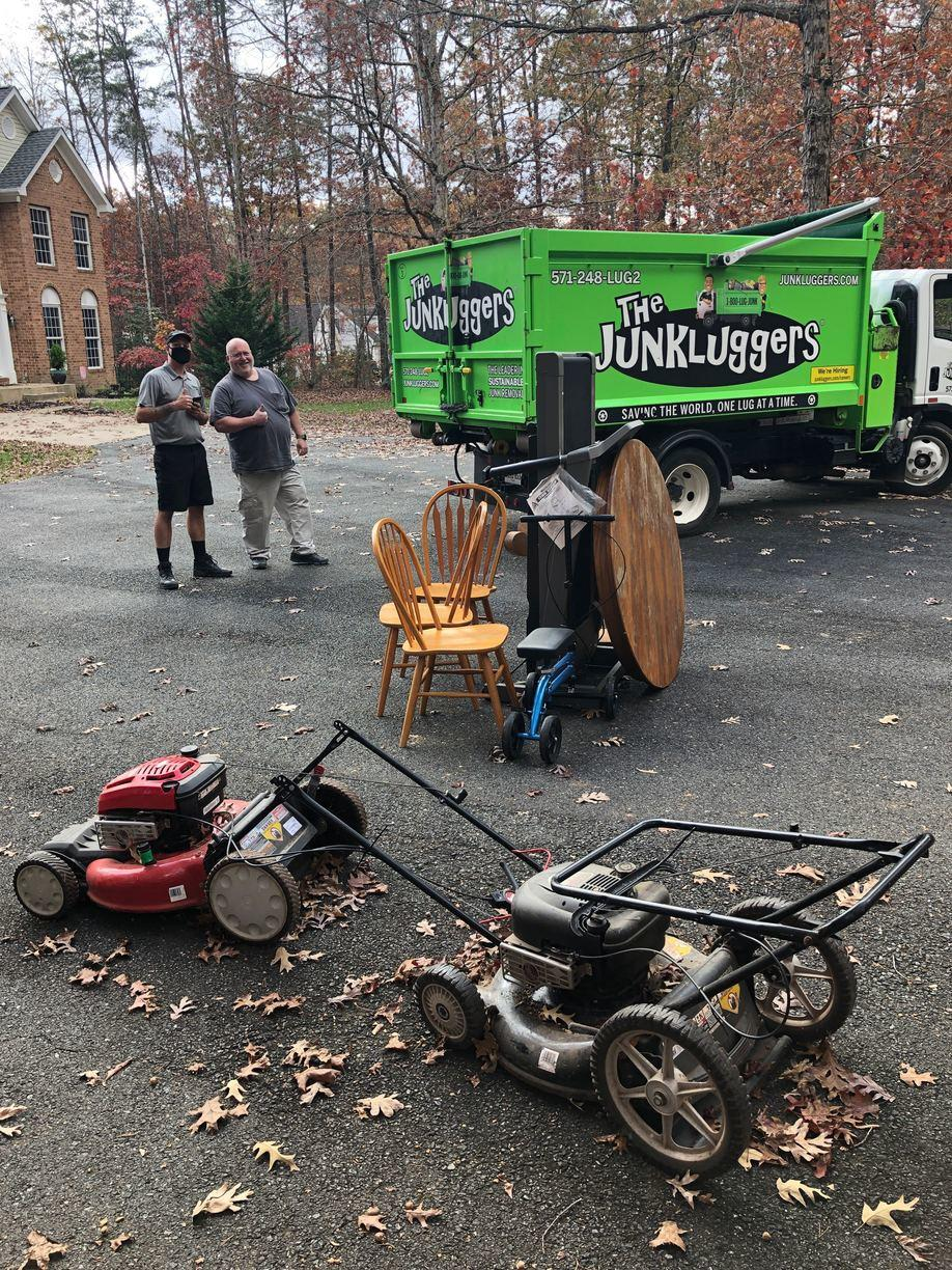 Junk Removal in Midland, VA - Before Photo