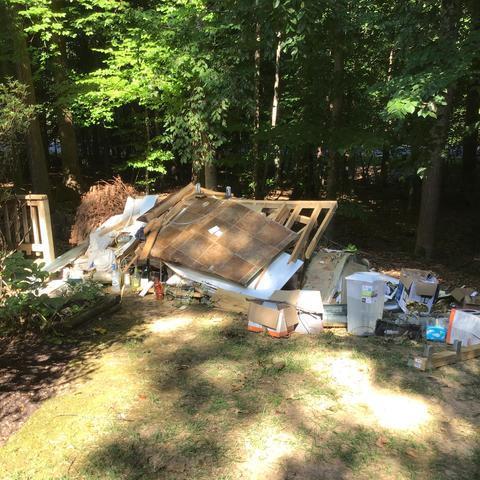 Junk removal in Manassas, VA