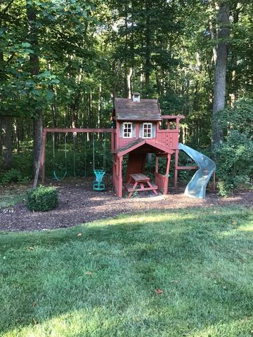 Playset Removal in Haymarket, VA - Before Photo