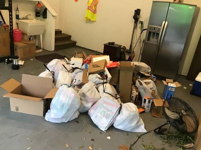 Garage Cleanout in Warrenton, VA