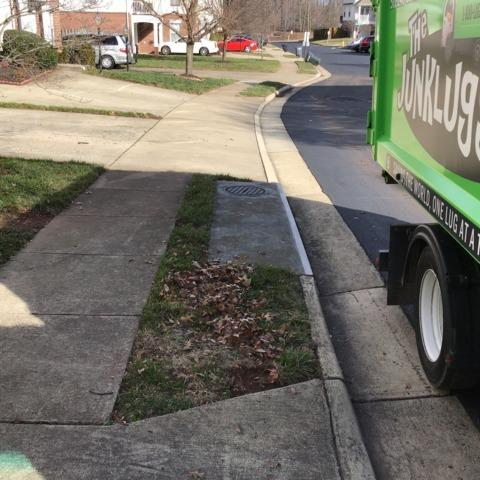 Couch Removal in Manassas, VA - After Photo