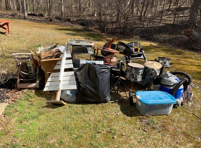 Junk Removal Job in Amissville, VA - Before Photo