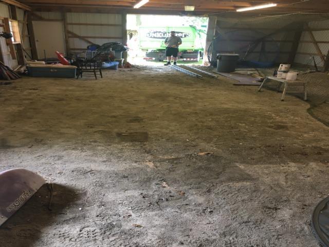 Storage barn clean out in Haymarket, VA
