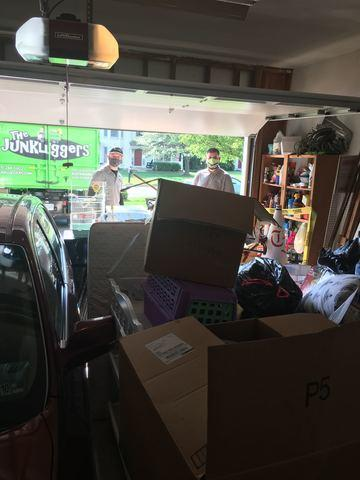 Zero contact junk removal in Fairfax, VA