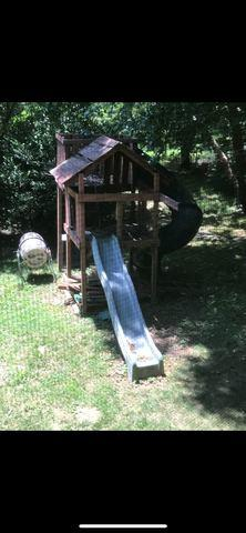 Play-set removal in Arlington, VA