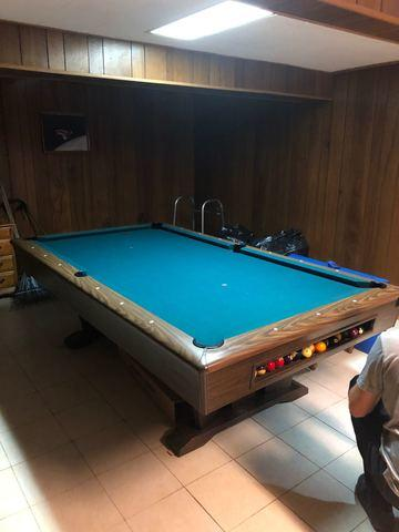 Pool Table Removal in Fairfax, VA - Before Photo