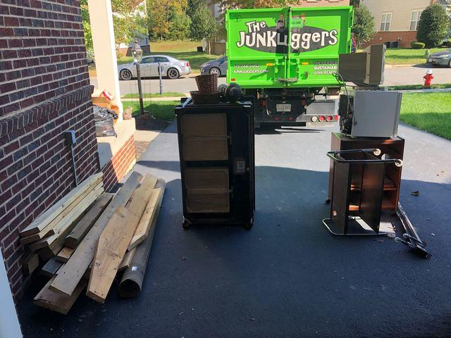 Junk Removal in Sterling, VA - Before Photo