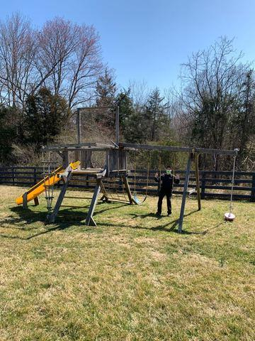 Playground removal in Amissville VA