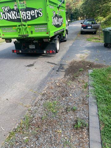 Curbside junk removal in Reston, VA