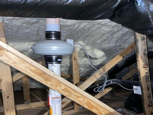 Radon Fan Installation
