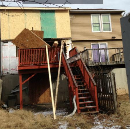 Flood Damage Repair in Hanover, PA - Before Photo