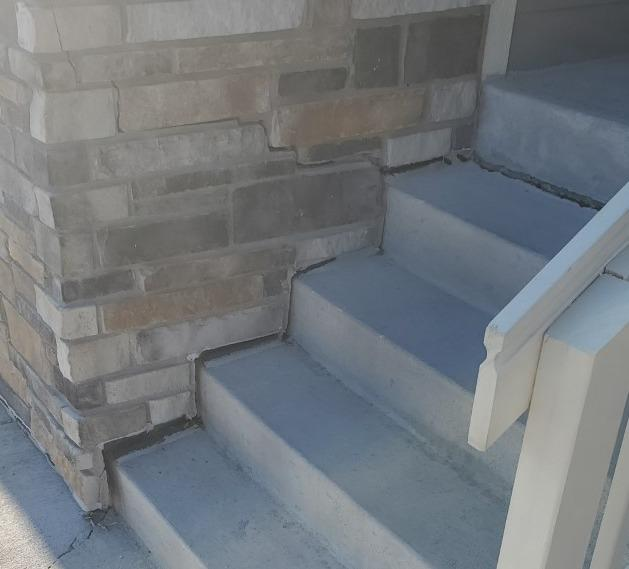 Stairway lift and level in Ault, Co - Before Photo