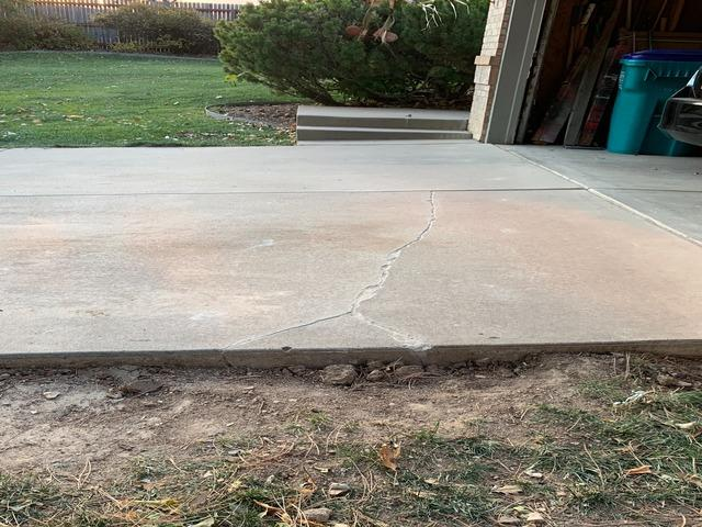 Lifting, Leveling and Repairing Cracks in Fort Collins, CO.
