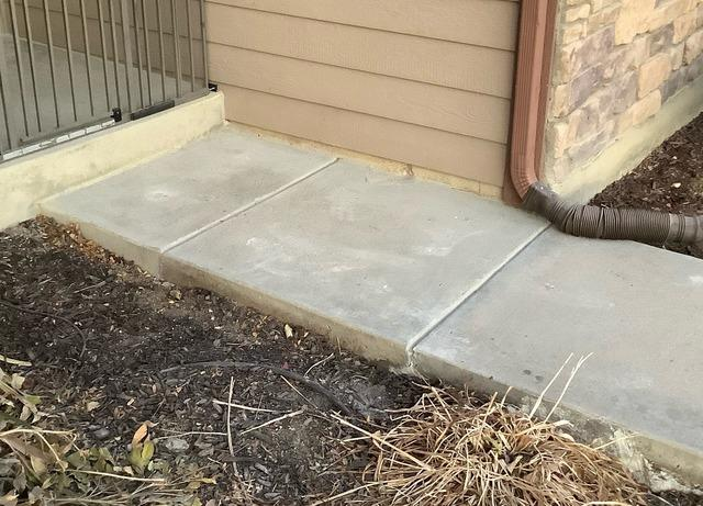 Sidewalk Repair in Fort Collins Colorado