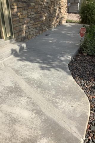 Walkway lift & level in Greeley, CO