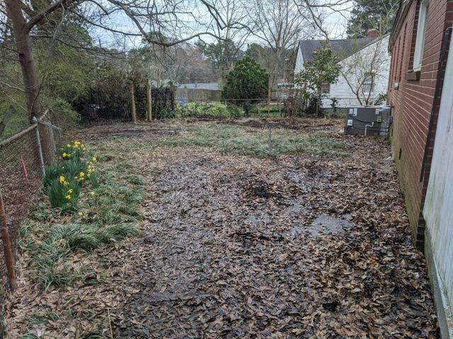 Yard Waste & Debris Removal - After Photo