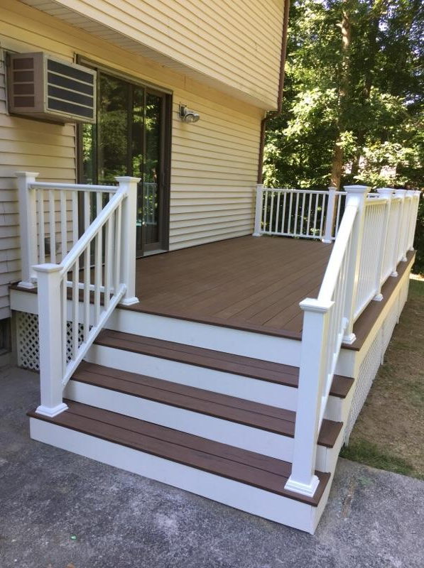 Deck Replacement in Ledyard, CT - After Photo