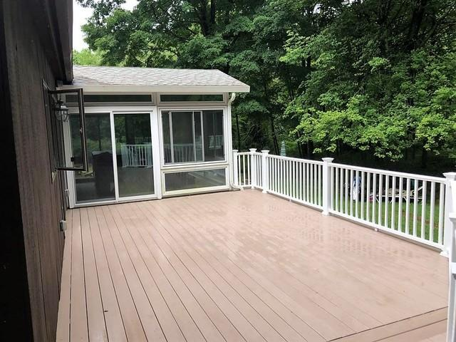 Deck Replacement in East Haddam, CT - After Photo