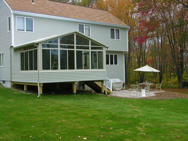 Sunroom Build in Coventry, CT - After Photo