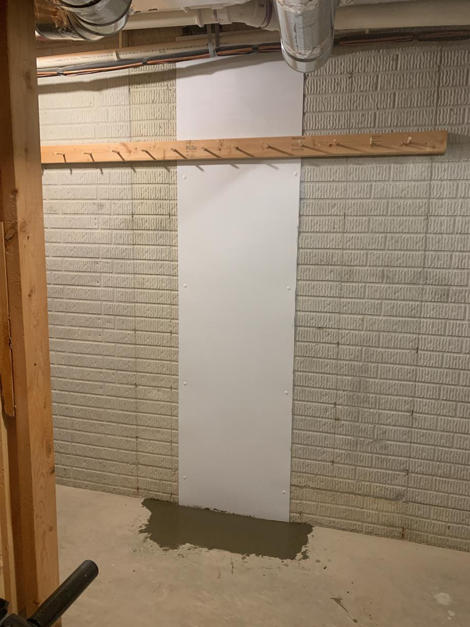 Basement Wall Repair in New Albany, OH - After Photo