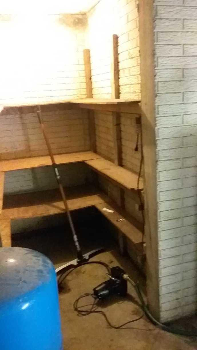 TripleSafe Sump Pump Installation in Alexandria, OH - Before Photo
