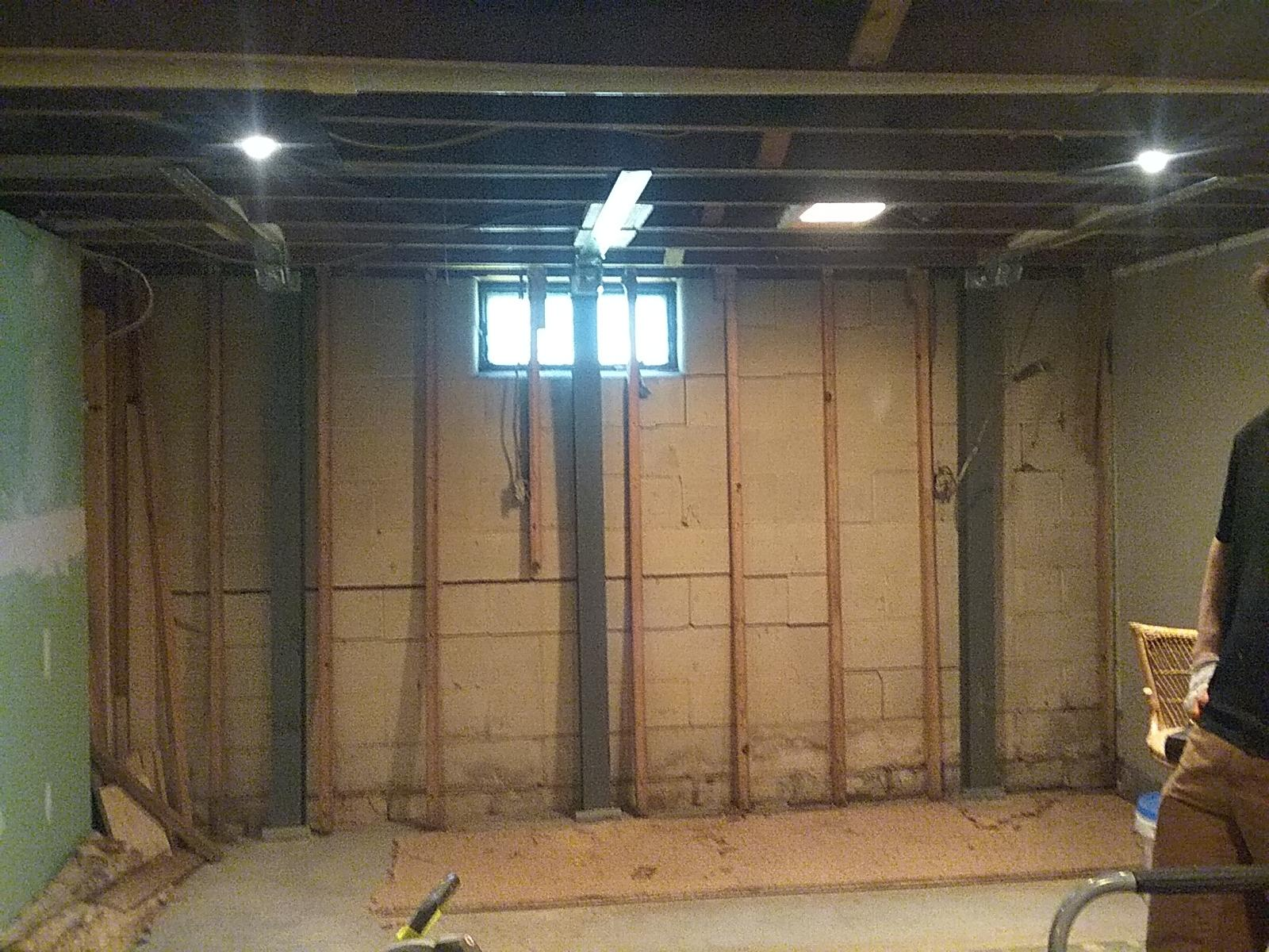 PowerBrace Wall Stabilization in Zanesville, OH - After Photo