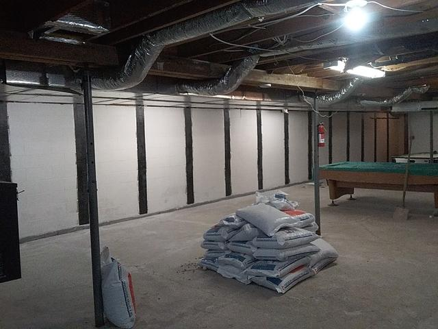 CarbonArmor Wall Reinforcing System Installation in Marysville, OH