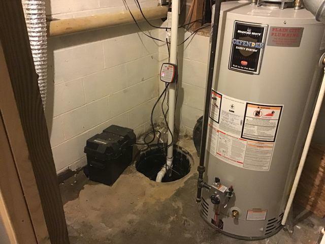 TripleSafe Sump Pump Installation in London, OH
