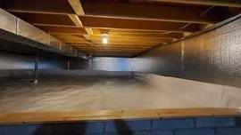 Crawl Space Encapsulation in Blacklick, OH