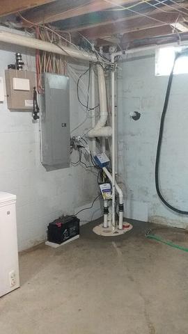 Basement Waterproofing in Ashville, OH