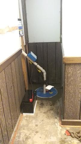 Sump Pump Installation in Springfield, OH