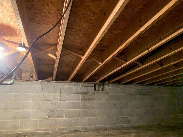 Crawl Space Spray Foam Insulation in Pickerington, OH