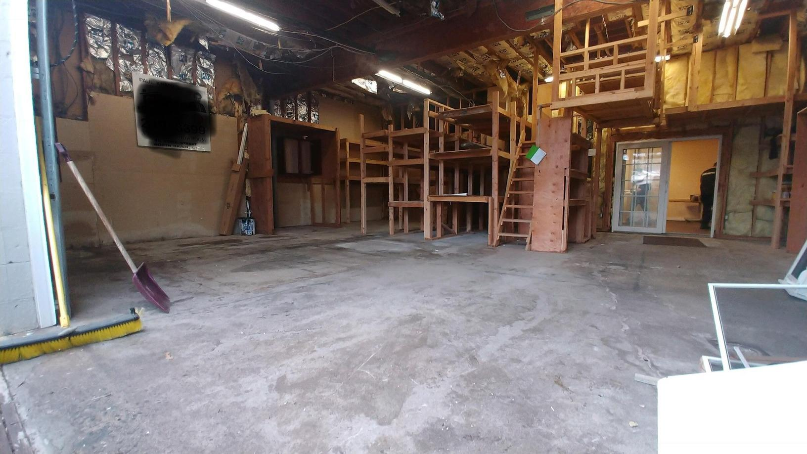 No job too big or small! Check out this loading bay job in Hamden, CT! - After Photo