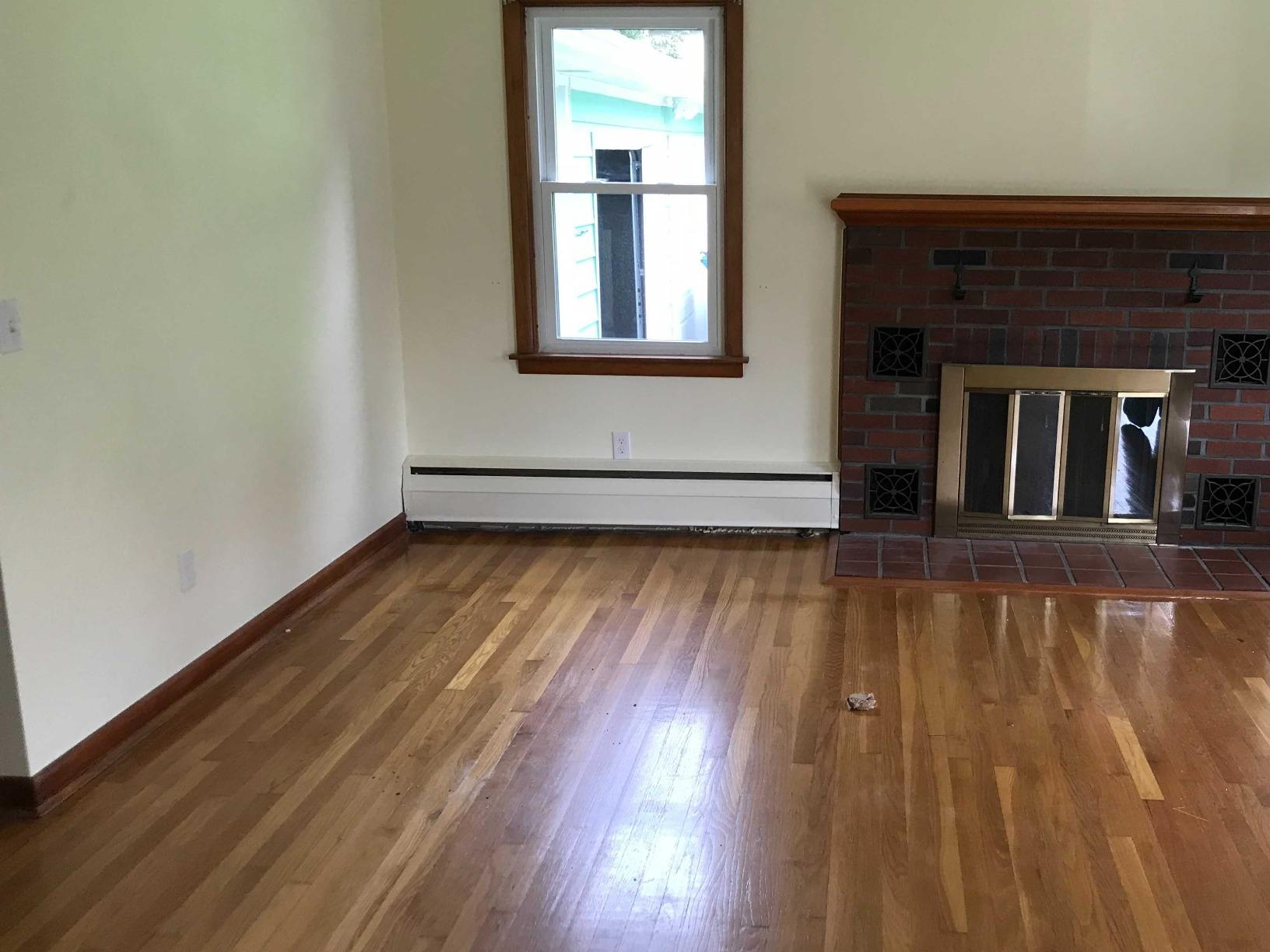 Living Room Junk Removal in Milford, CT - After Photo