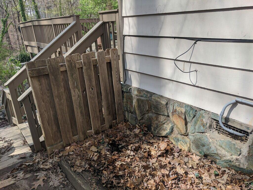 Backyard Cleanup in Milton, GA - After Photo