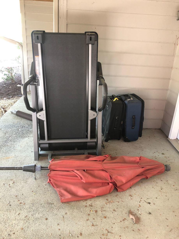 Treadmill Removal in Milton, GA - Before Photo