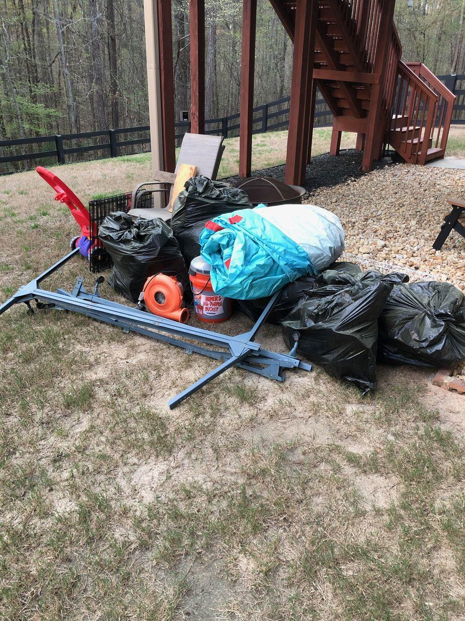 Junk Removal in Johns Creek, GA - Before Photo