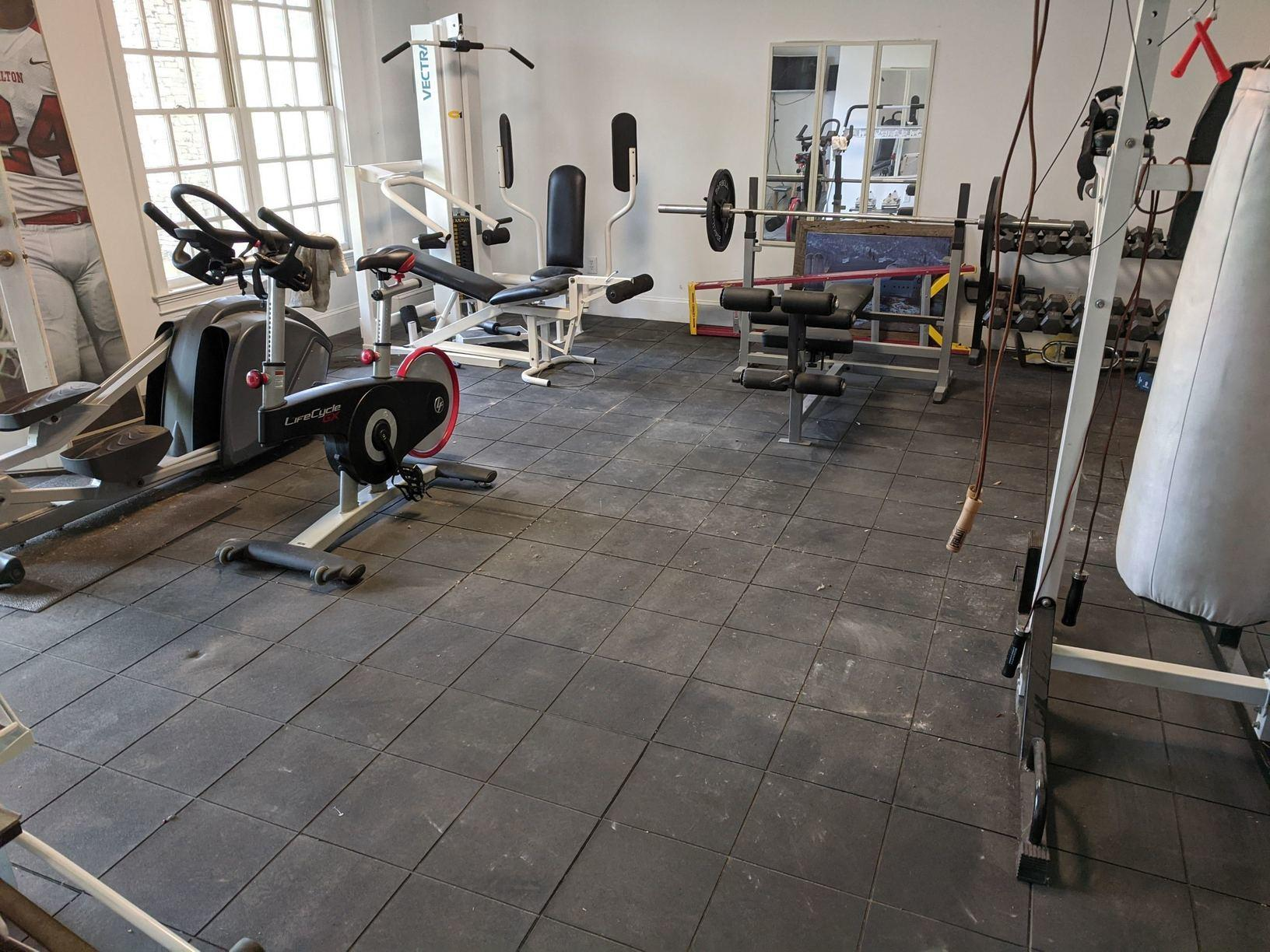 Exercise Equipment Removal in Alpharetta, GA - After Photo