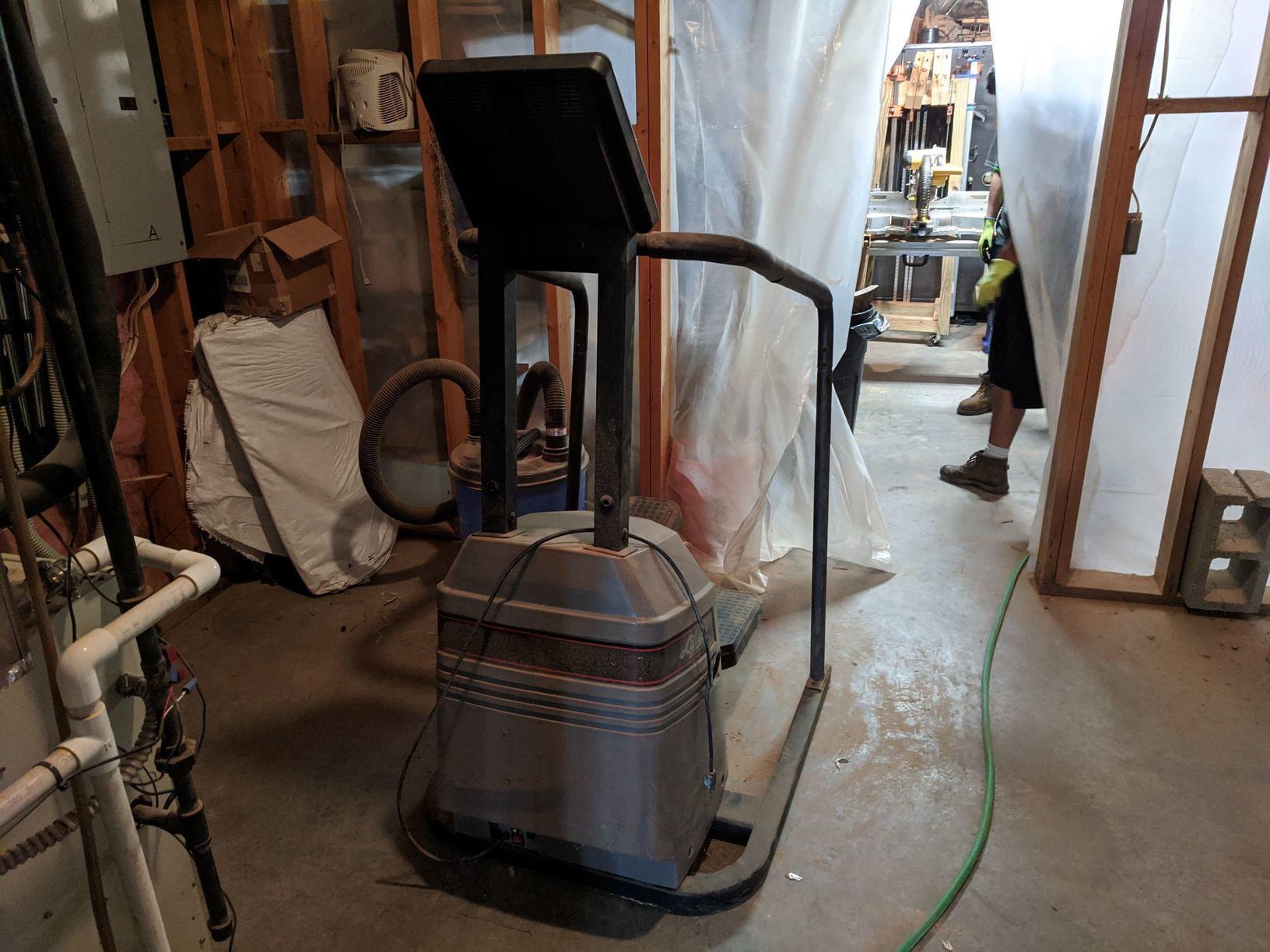 StairMaster Removal in Alpharetta, GA - Before Photo