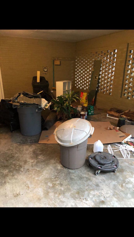 Junk Removal in Cumming, GA - Before Photo