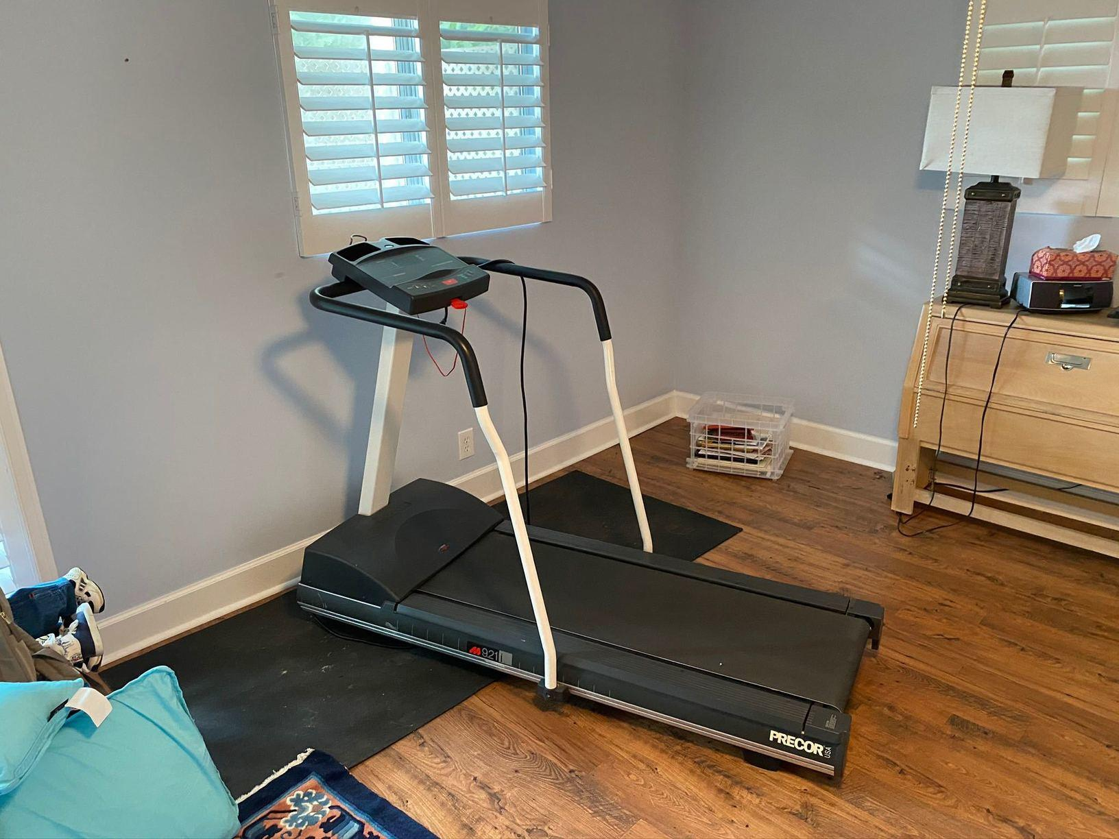 Treadmill Removal in Cumming, GA - Before Photo