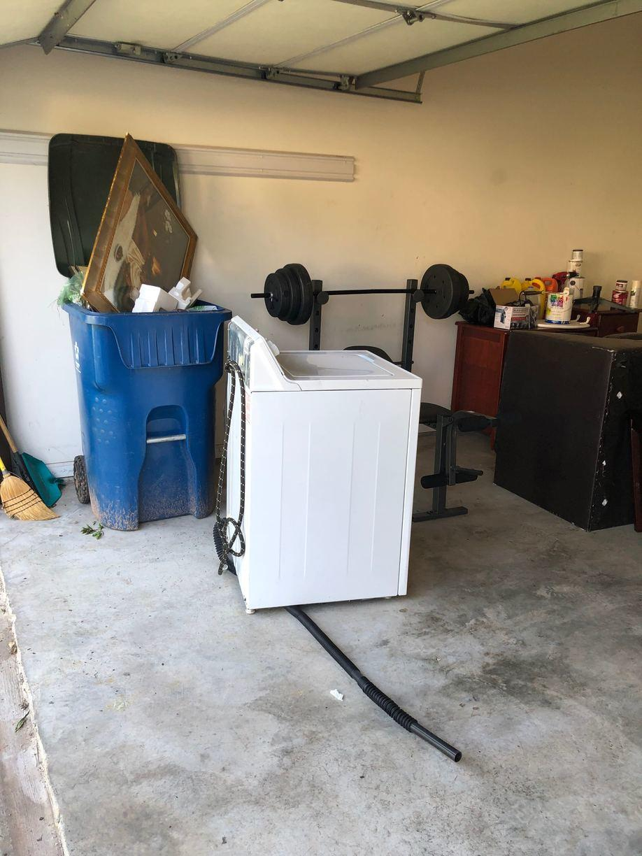 Appliance Removal in Roswell, GA - Before Photo