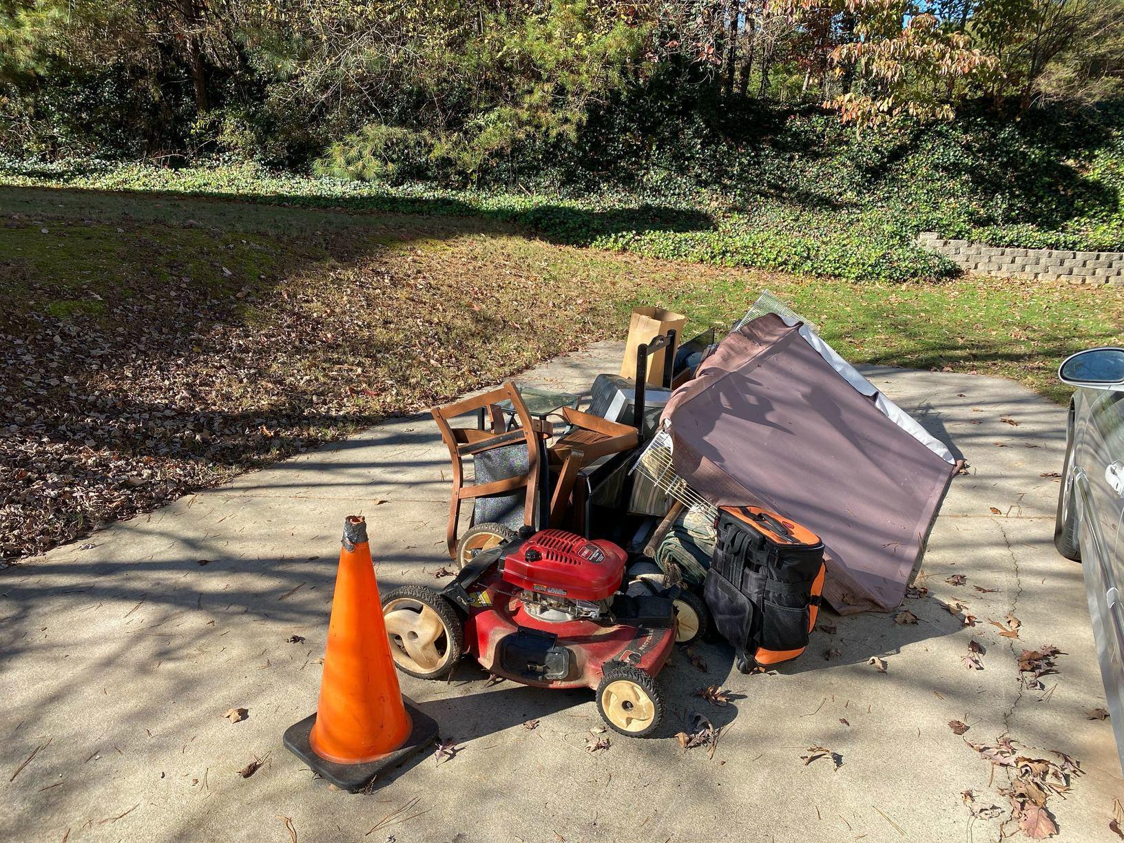 Junk Removal in Cumming, Georgia. - Before Photo