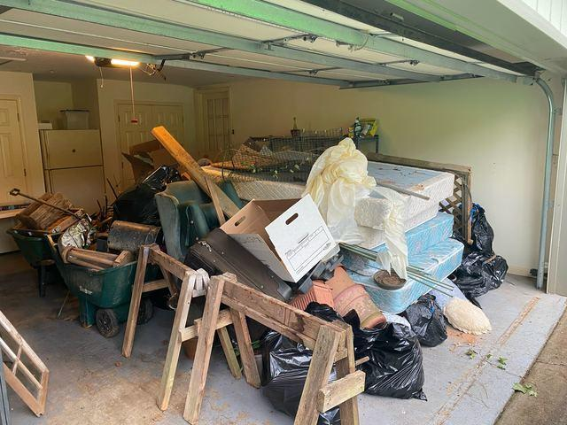 Garage Cleanout in East Cobb, GA