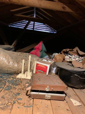 Attic Clean-Out in Cumming, GA - Before Photo